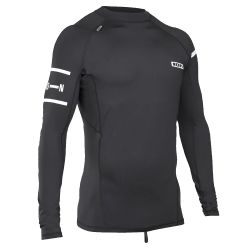 Lycra Ion RASHGUARD MEN LS BLACK/WWHITE