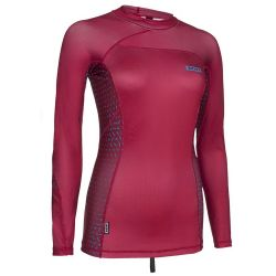 Lycra Ion RASHGUARD WOMEN LS RED