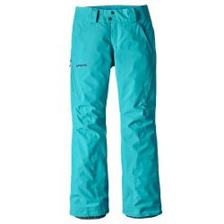 Pantalone da Snowboard Patagonia INSULATION POWDERBOWL PANTS LIGHT BLUE