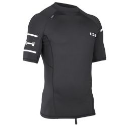 Lycra Ion RASHGUARD MEN SS BLACK/WHITE