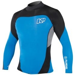 Lycra NP RISE TOP APEX PLUS 2/1 BLUE/GREY