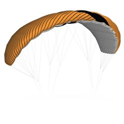 Vela da Kite Liquid Force TRAINER 3M