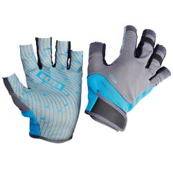 Guanti Ion AMARA HALF FINGER BLUE/GREY