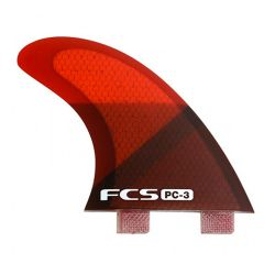 Pinne da Surf FCS RED SLICE TRI FIN SMALL