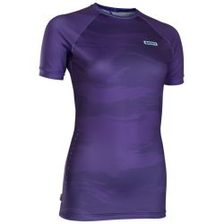 Lycra Ion RASHGUARD WOMEN SS DARK PURPLE