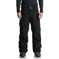 Pantaloni da Snowboard Quiksilver PORTER BLACK