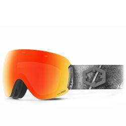 Maschera da Snowboard Out Of OPEN FEATHER RED MCI