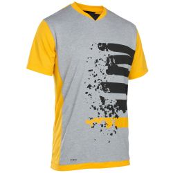 Ion TEE SS LETTERS SCRUB AMP SMILEY YELLOW
