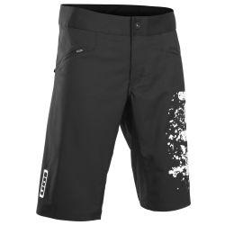 Pantaloni Bike Ion BIKESHORTS SCRUB BLACK