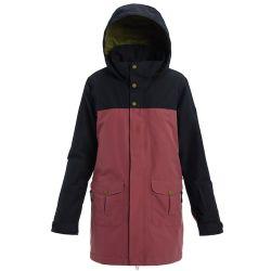 Giacca da Snowboard Burton GORE-TEX EYRIS TRUE BLACK/ROSE BROWN