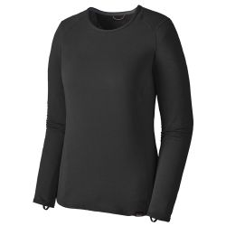 Maglia termica Patagonia W's CAPILENE THERMAL WEIGHT CREW BLACK