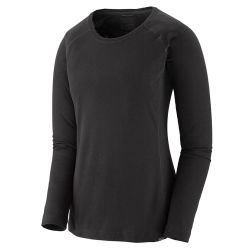 Maglia termica Patagonia W's CAPILENE MIDWEIGHT CREW BLACK