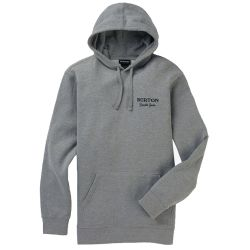 Felpa Burton DURABLE GOODS PULLOVER GREY HEATHER