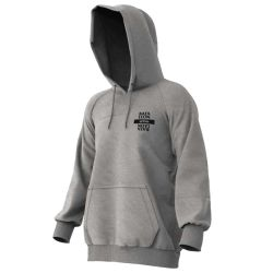 Felpa Bataleon LAST NINJA HOODIE HEATHER GREY