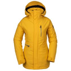 Giacca da Snowboard Volcom SHELTER 3D STRETCH JACKET YELLOW