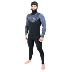 Muta Sooruz GURU PRO HOOD 5/4/3 ZIP-FREE BLACK/ORANGE