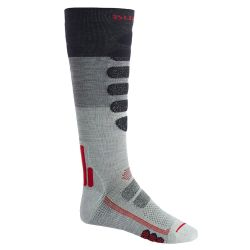 Calze Termiche Burton PERFORMANCE LIGHTWEIGHT COMPRESSION SOCK GREY