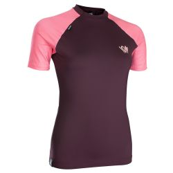 Lycra Ion RASHGUARD WOMEN SS RED
