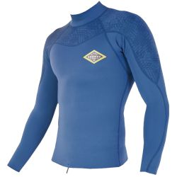 Lycra Sooruz FIGHTER COLLAR LS 1/1 BLUE