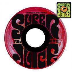Ruote da Skate Oj Wheels SUPER JUICE TRANS RED 60MM