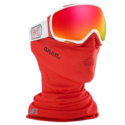Maschera da Snowboard Anon TEMPEST MFI WHITE ROSE/SONAR RED 2020