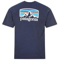 Maglietta Patagonia FITZ ROY HORIZONS RESPONSIBILI-TEE NEW NAVY 2021