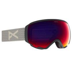 Maschera Snowboard Anon WM1 MFI GRAY/PERCEIVE SUNNY RED 2021