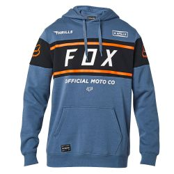 Felpa Fox OFFICIAL PULLOVER FLEECE BLUE STEEL 2021