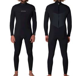 Muta Uomo Rip Curl DAWN PATROL 5/3 BACK-ZIP BLACK 2021
