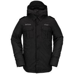 Giacca Snowboard Volcom CREEDLE2STONE JACKET BLACK 2021