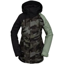 Giacca Snowboard Volcom WESTLAND INSULATED JACKET SERVICE GREEN 2021