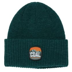 Beanie Coal THE TUMALO HEATHER FOREST GREEN