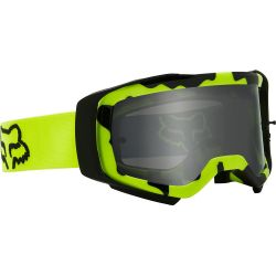 Fahrradbrille Fox AIRSPACE STRAY GOGGLE FLUORESCENT YELLOW 2021