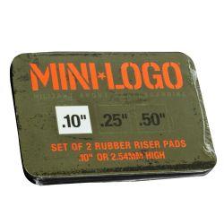 "Riser Pads Mini Logo 0.10"""