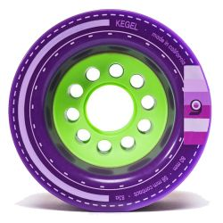 Ruote Skate Orangatang KEGEL PURPLE 80MM