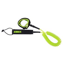 Leash Sup Jobe SUP LEASH COIL 10FT LIME 2021