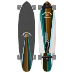 Longboard Long Island BRONZE KICKTAIL 37.85""