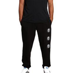 Pantalone Tuta Volcom STONE STACK FLEECE PANT BLACK 2021