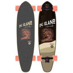 "Longboard Long Island STAMP KICKTAIL 37"""