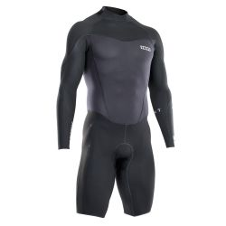 Muta Uomo Ion ELEMENT SHORTY LS 2/2 BACK-ZIP BLACK 2021