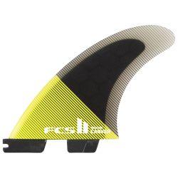 Pinne Surf FCS CARVER PC FCS II TRI-FIN MEDIUM ACID/BLACK
