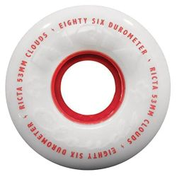 Ruote Skate Ricta CLOUDS RED 53MM