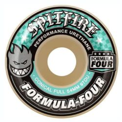 Ruote Skate Spitfire F4 97 CONICAL FULL NAT 54MM