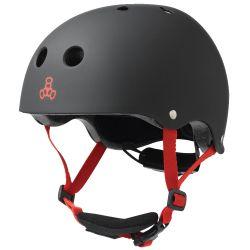 Casco Skate Triple Eight LIL 8 BLACK RUBBER 2021