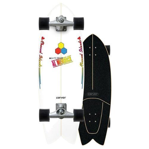 "Surf Skate Carver FISHBEARD 29.25"" CX"