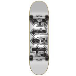 """Komplett Skateboard Flip HKD THRASHED WHITE 7.75"""""""