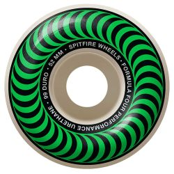 Ruote Skate Spitfire F4 99 CLASSIC GREEN 52MM