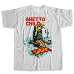 Maglietta Ghettochild MOJAVE WHITE 2021