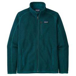 Felpa Patagonia M'S BETTER SWEATER JACKET DARK BOREALIS GREEN 2022