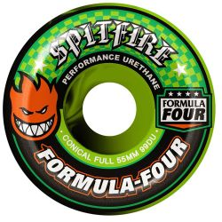 Ruote Skate Spitfire F4 99 CONICAL FULL TEAM COLOR UP SWIRL 53MM